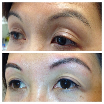 Permanent Makeup Brows and Eyeliner